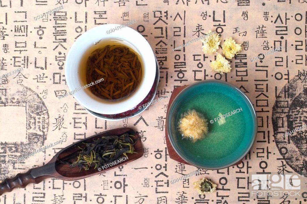 Stock Photo: beverage, well-being, tea-things, Asia, wellbeing, drink, tea.