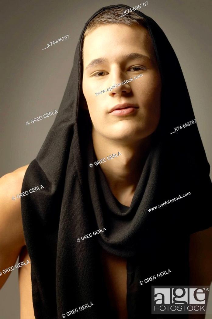 Stock Photo: Fashion image of male.