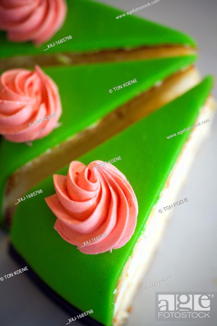 Stock Photo: 'de taart van mijn tante' is a famous patisserie shop in Amsterdam.