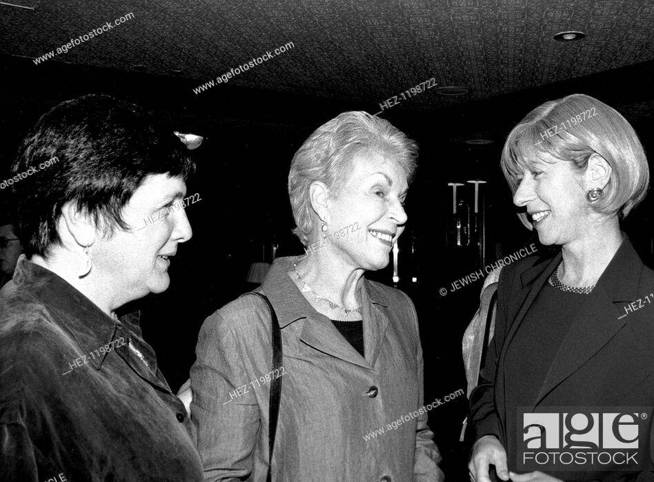 Stock Photo: Ruth Rendell (1930- ), British crime writer, 1999.