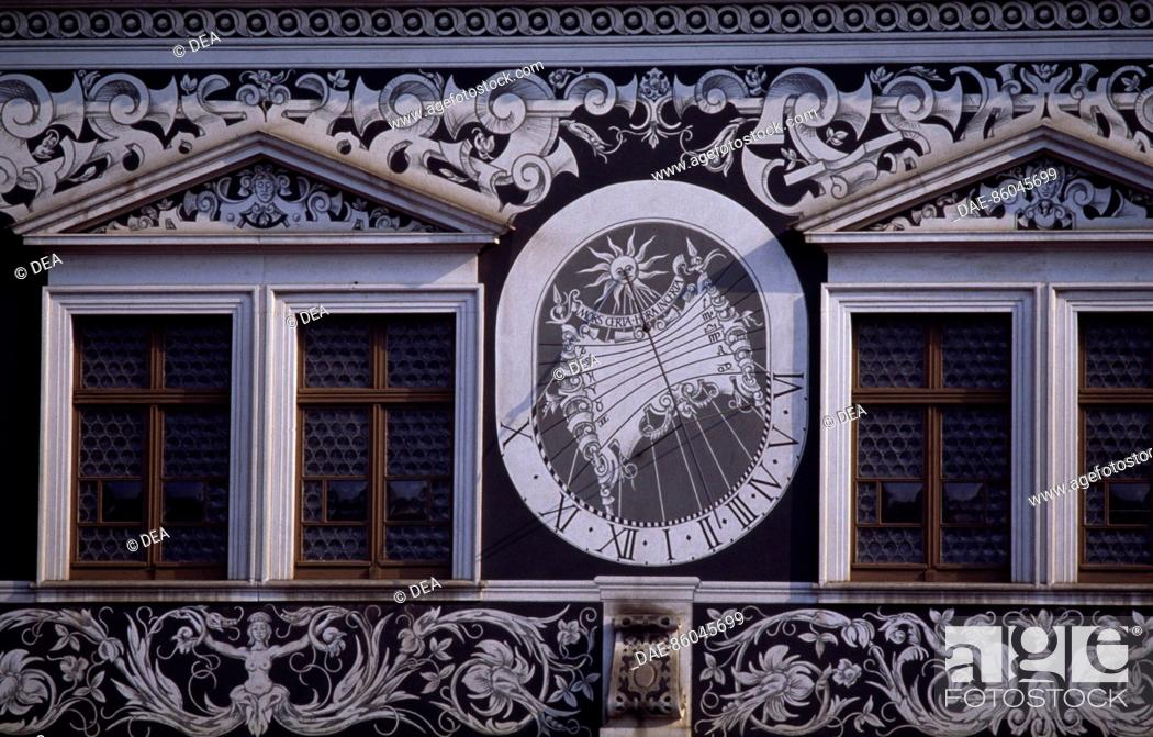 Stock Photo: Dresden Castle, Saxony. Detail. Germany.