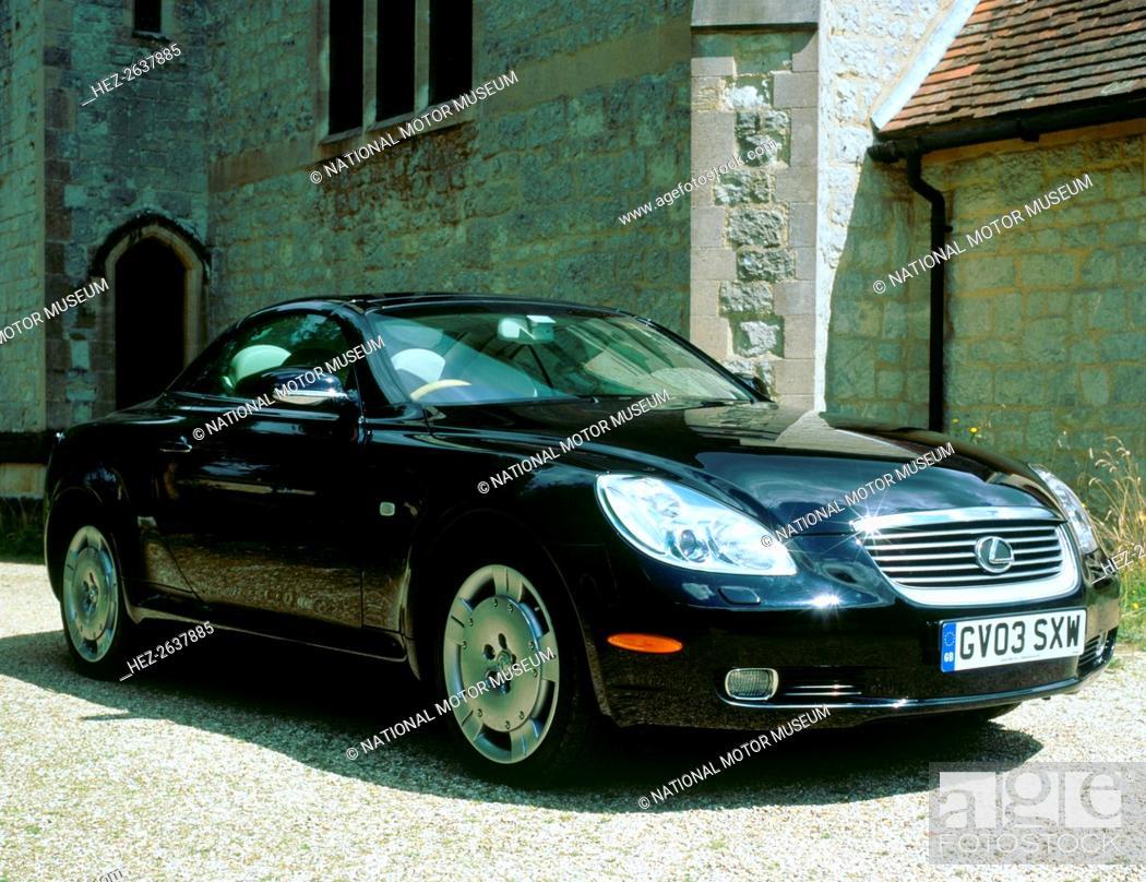 lexus 2003 sc430 tire size
