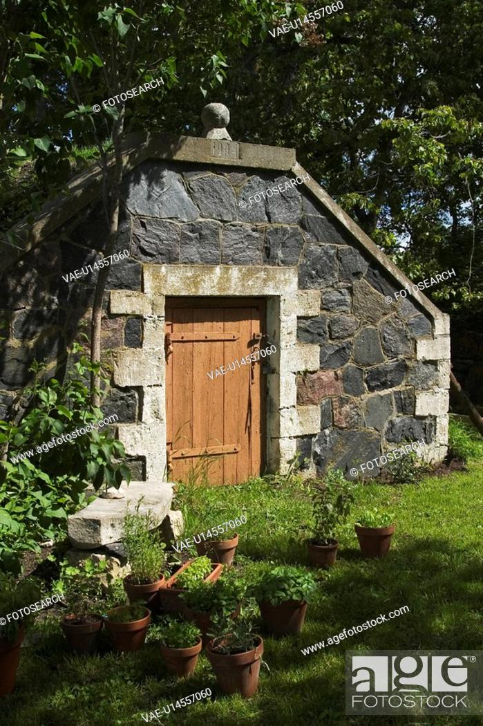 Stock Photo: Calm, Day, Door, Garden, Grass.
