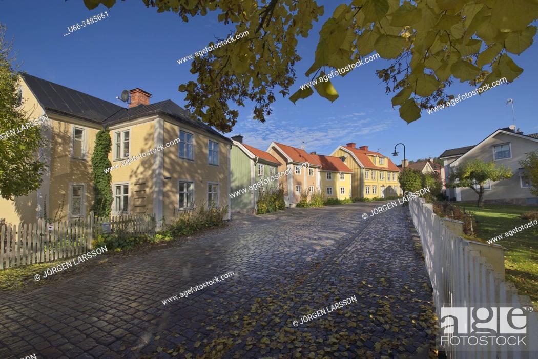 Stock Photo: Soderkoping, Ostergotland, Sweden.