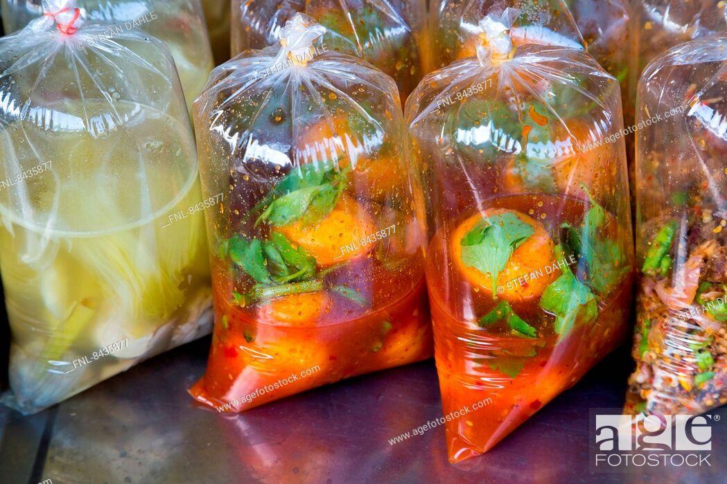 Stock Photo: Thai-food, Ao Nang, Krabi, Thailand, Asia.