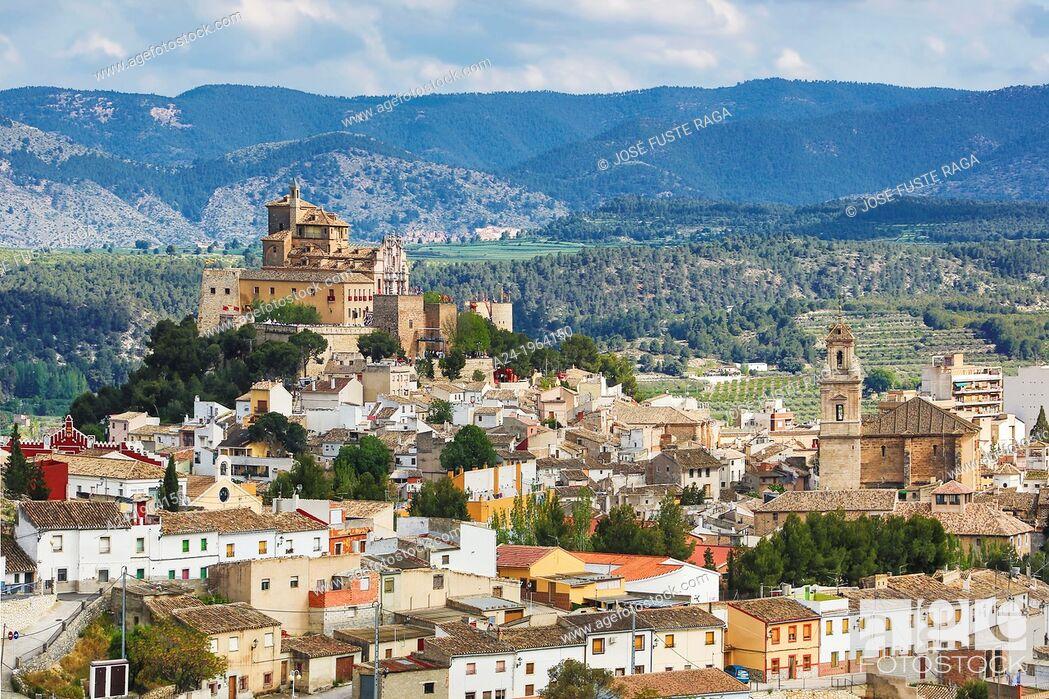 Stock Photo: Spain , Murcia Province, Caravaca de la Cruz City, Vera Cruz Sanctuary.