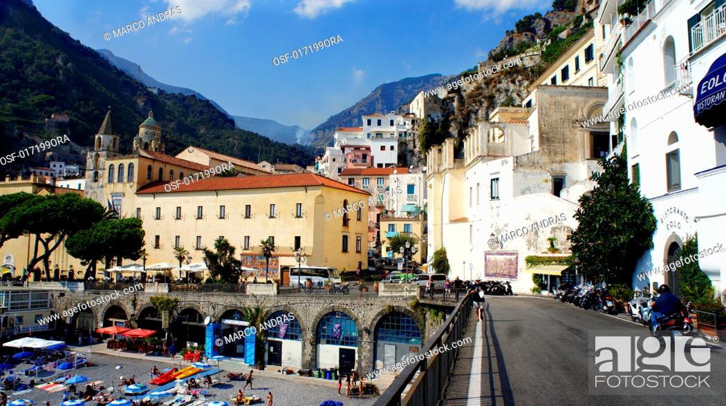 Imagen: italy amalfi region of Campania.