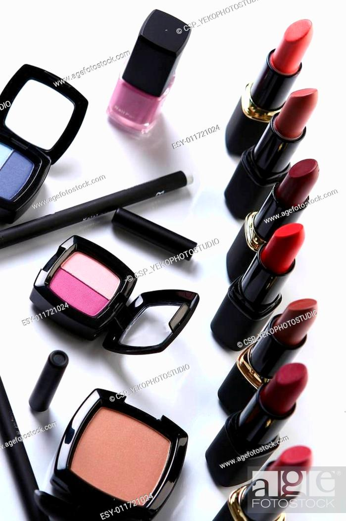 Stock Photo: cosmetic parts for face beauty.