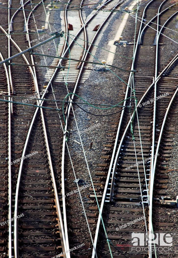 Stock Photo: railway.