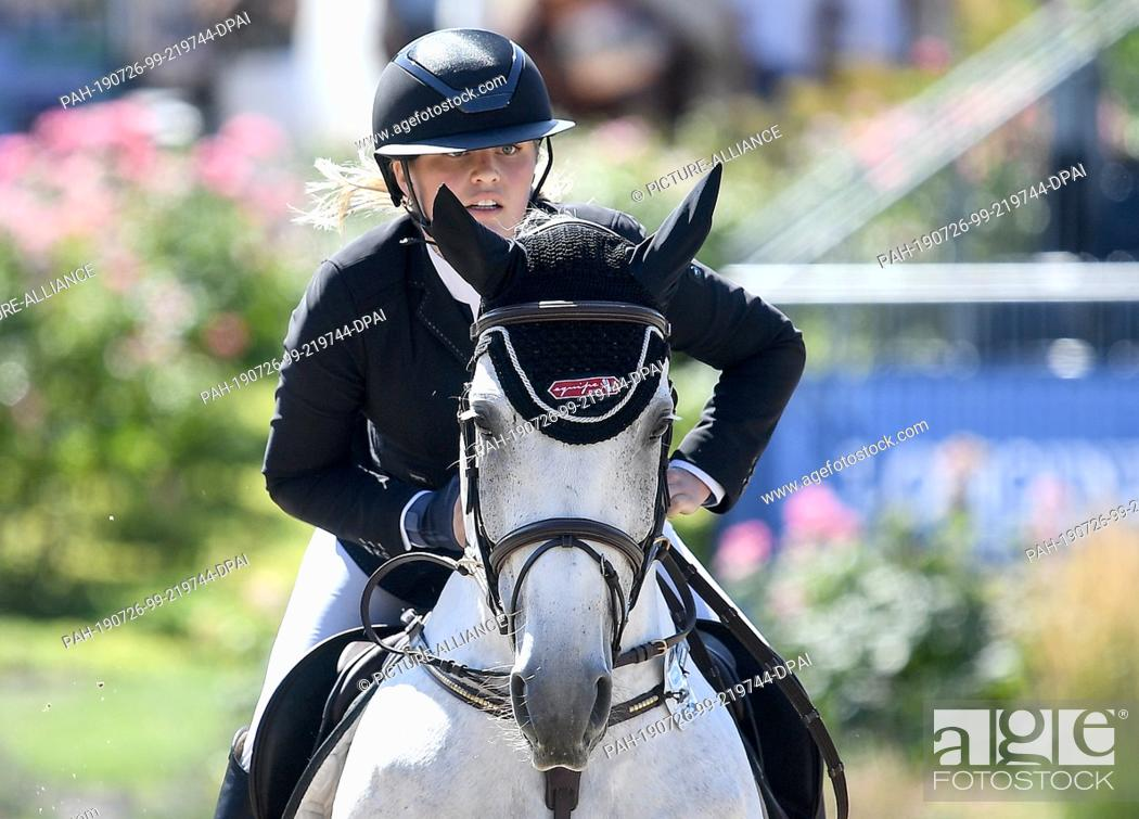 26 July 2019 Berlin Equestrian Sports Jumping Global