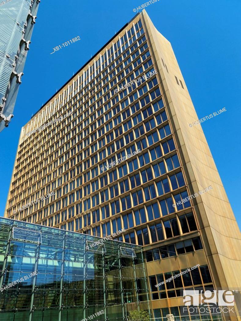 Stock Photo: Axel Springer building, Axel-Springer-Straße, Berlin-Kreuzberg, Berlin, Germany.