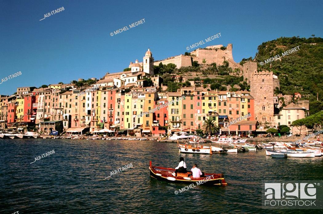 Stock Photo: Italy - Ligury - Portovenere.
