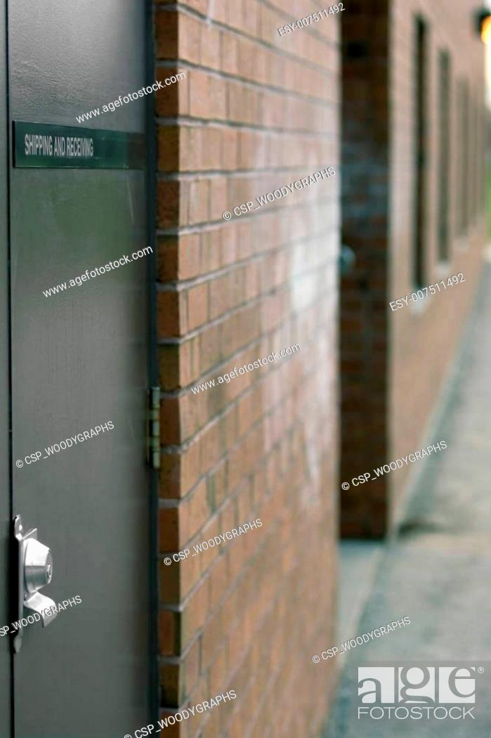 Stock Photo: Shipping and Receiving - Vertical.