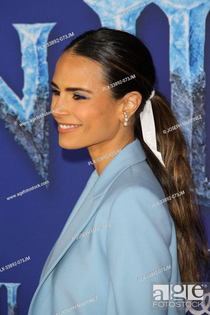 """Stock Photo: Jordana Brewster at Disney's """"""""Frozen II"""""""" World Premiere held at the Dolby Theatre in Hollywood, CA, November 7, 2019. Photo Credit: Joseph Martinez /."""