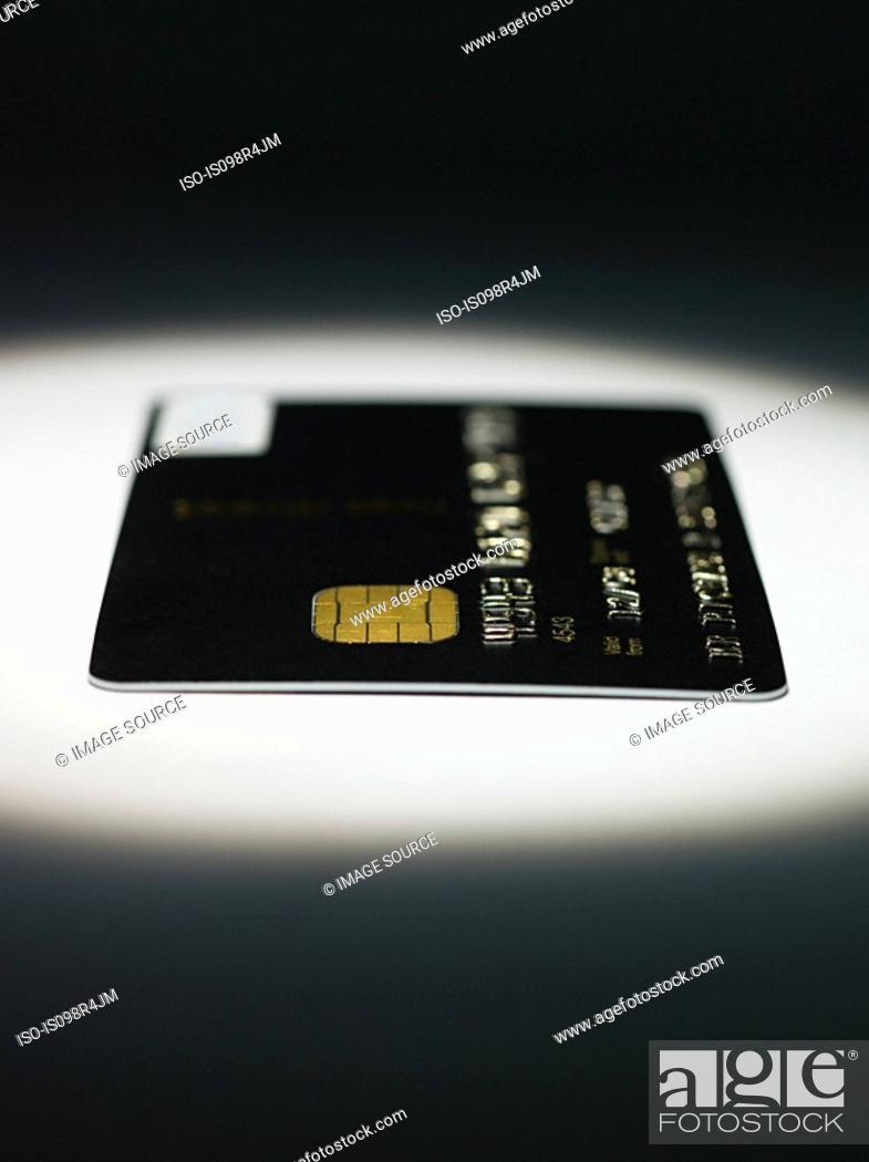 Stock Photo: Credit card.