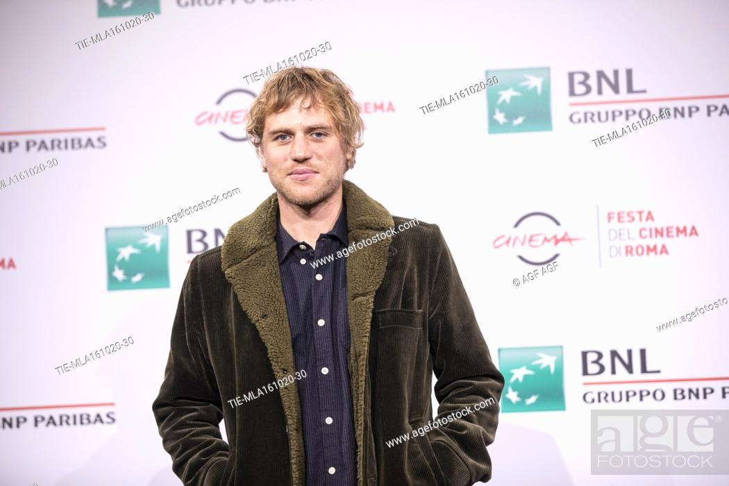 "Stock Photo: Johnny Flynn attends the photocall of the movie """"Stardust"""" during the 15th Rome Film Festival on October 16, 2020 in Rome, Italy."