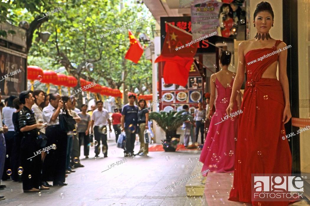 wedding shops, Nanjing Road, Hochzeit, Brautkleid, wedding dress ...
