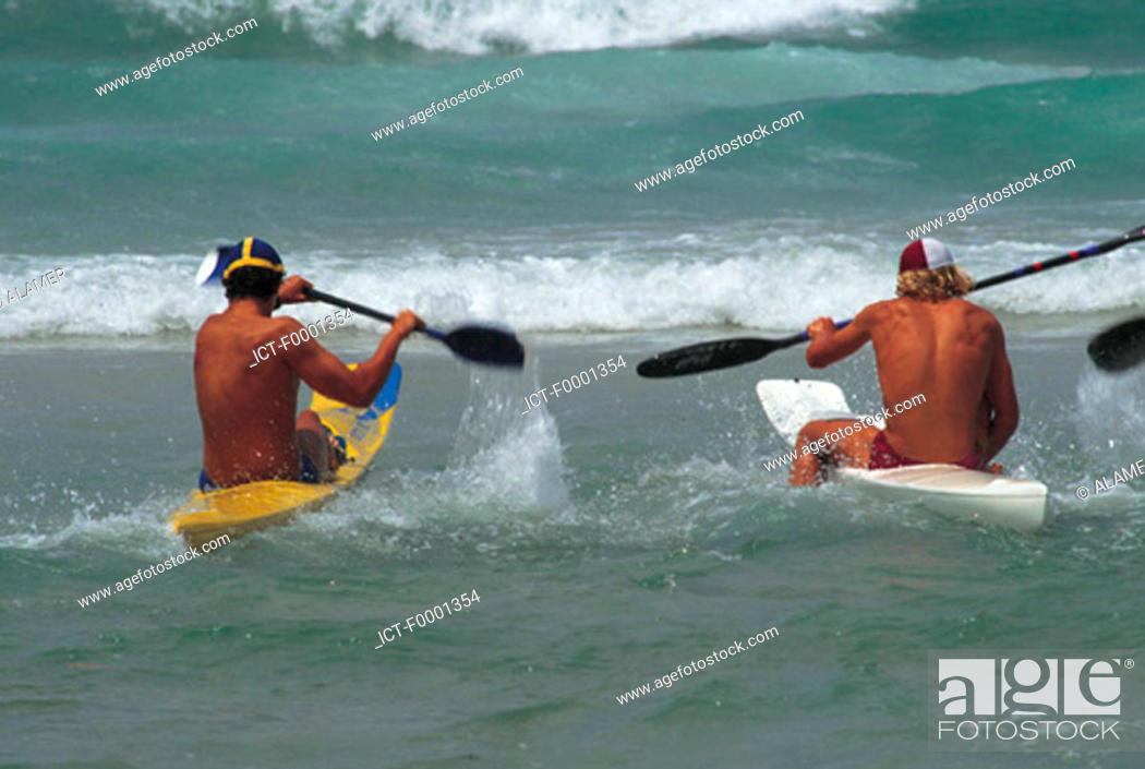 Stock Photo: Australia, nautic sports.