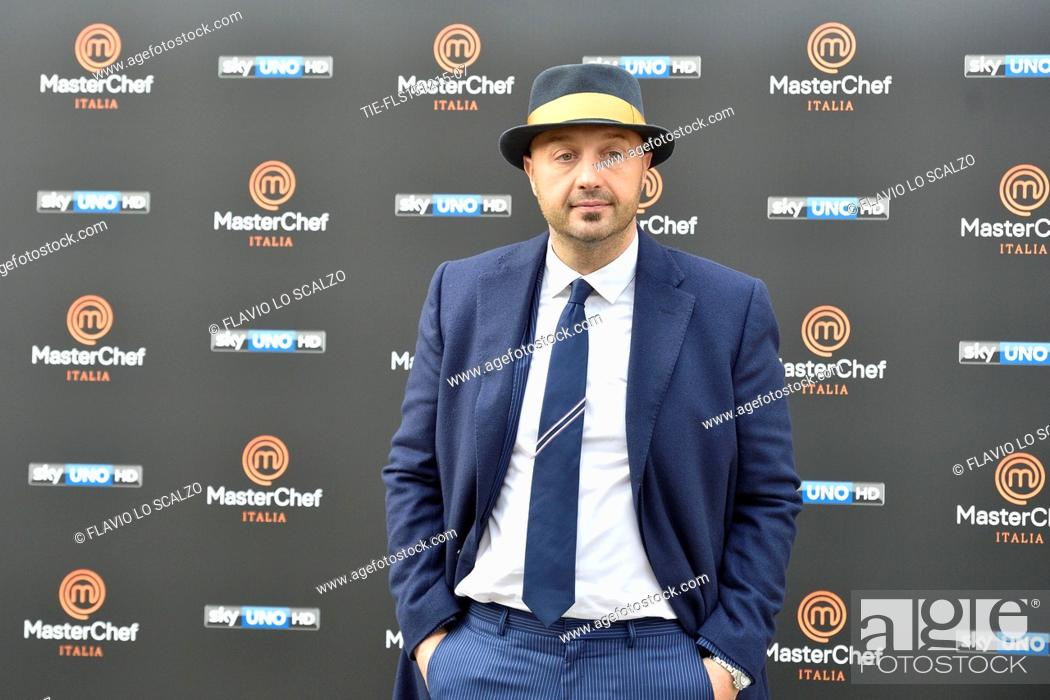 Imagen: The restaurater Joe Bastianich during the photo call of the fifth edition of tv programme Masterchef Italy, Milan, ITALY-15-12-2015.