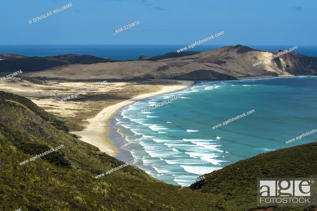 Stock Photo: Cape Reinga, Northland, New Zealand.