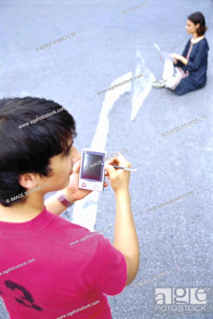Stock Photo: Communication highway.