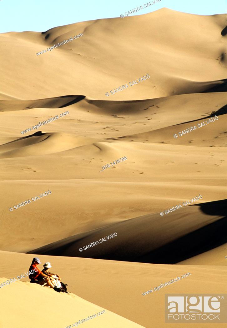 Photo de stock: Dunhuang, Jiuquan, Gansu Province, China.