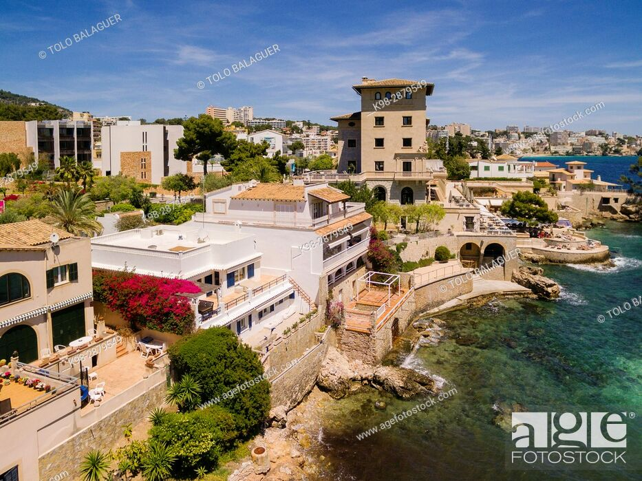 Stock Photo: Hotel Maricel, Cala Major, palma, Mallorca, balearic islands, spain, europe.