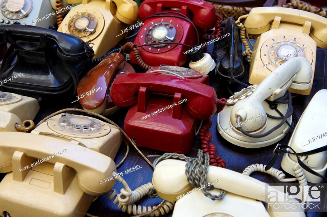 Stock Photo: Antiques shop, Taksim district, Istanbul, Turkey.