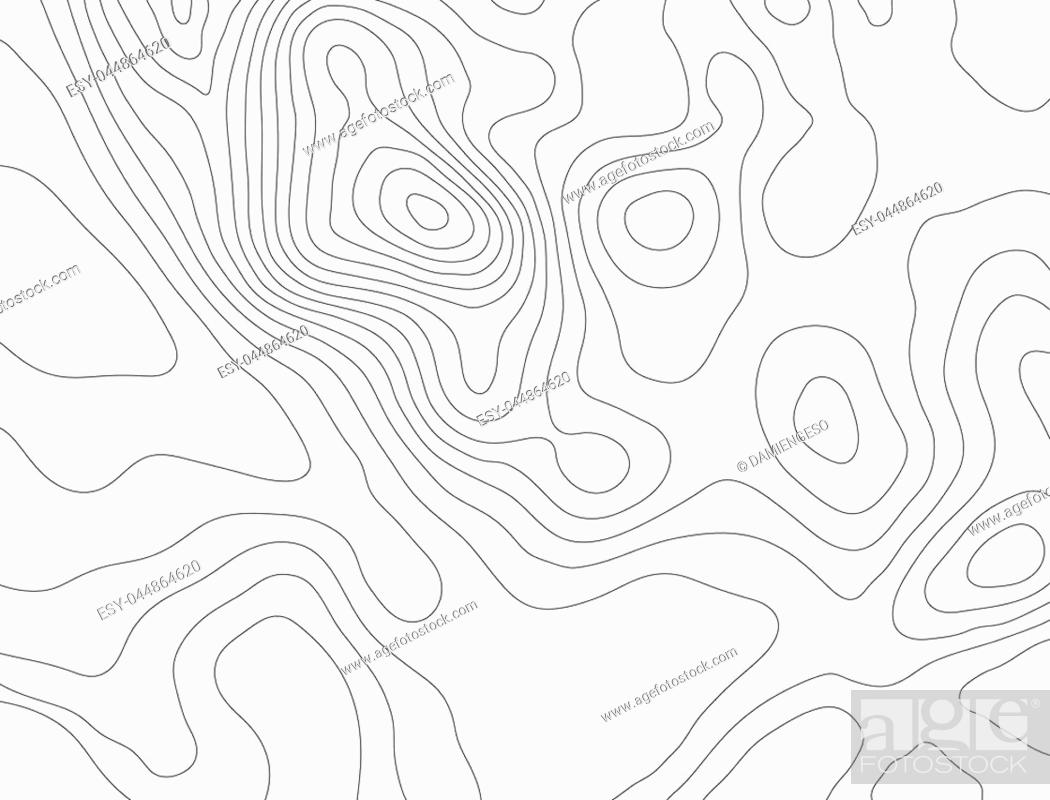 Stock Photo: Topographic map background concept with space for your copy.