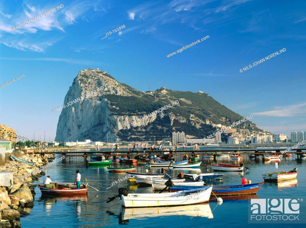 Photo de stock: Gibraltar. UK.