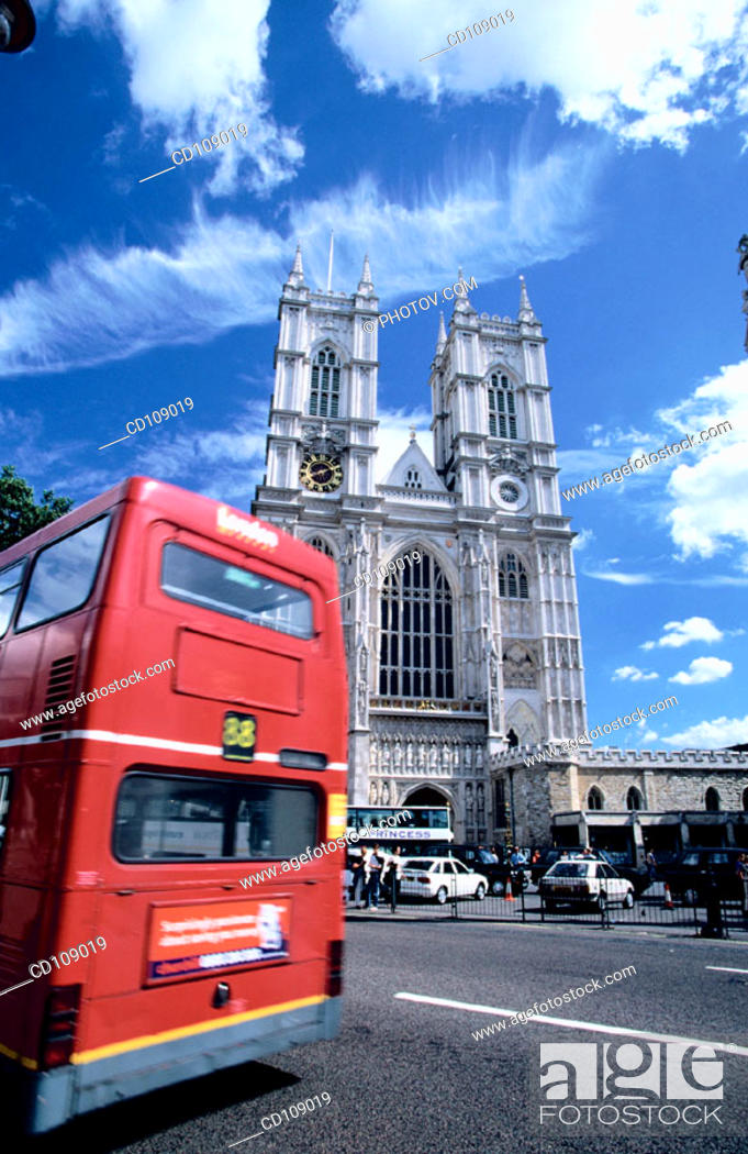 Stock Photo: Westminster Abbey. London. England.