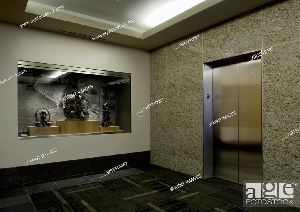 Stock Photo: Elevator.