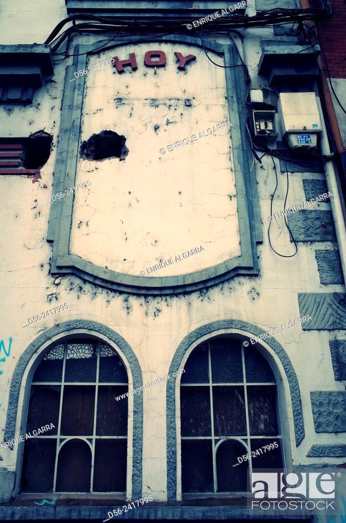 Imagen: Old cinema, Zamora, Castilla y Leon, Spain.