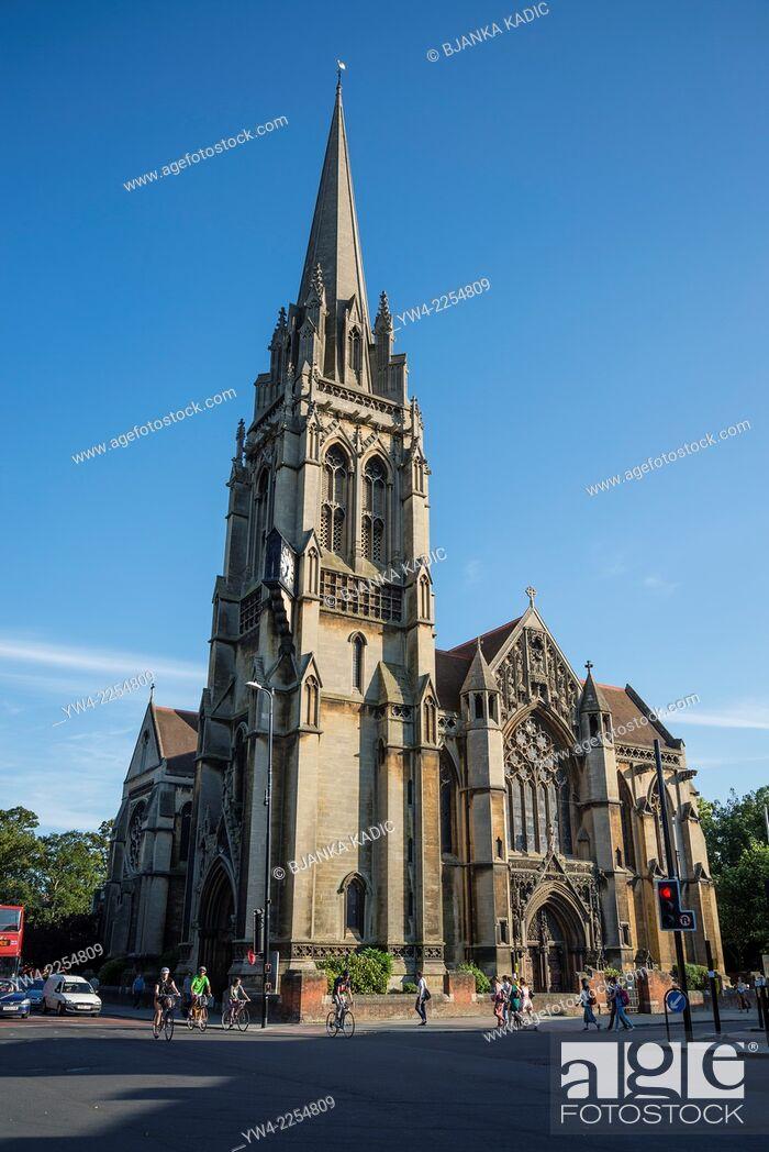 Stock Photo: Catholic Church of Our lady and the English Martyrs, Cambridge, England, UK.
