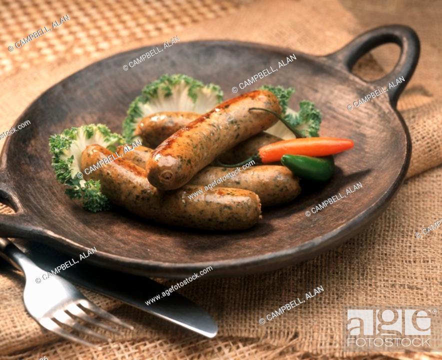 Stock Photo: Southwestern Sausage.
