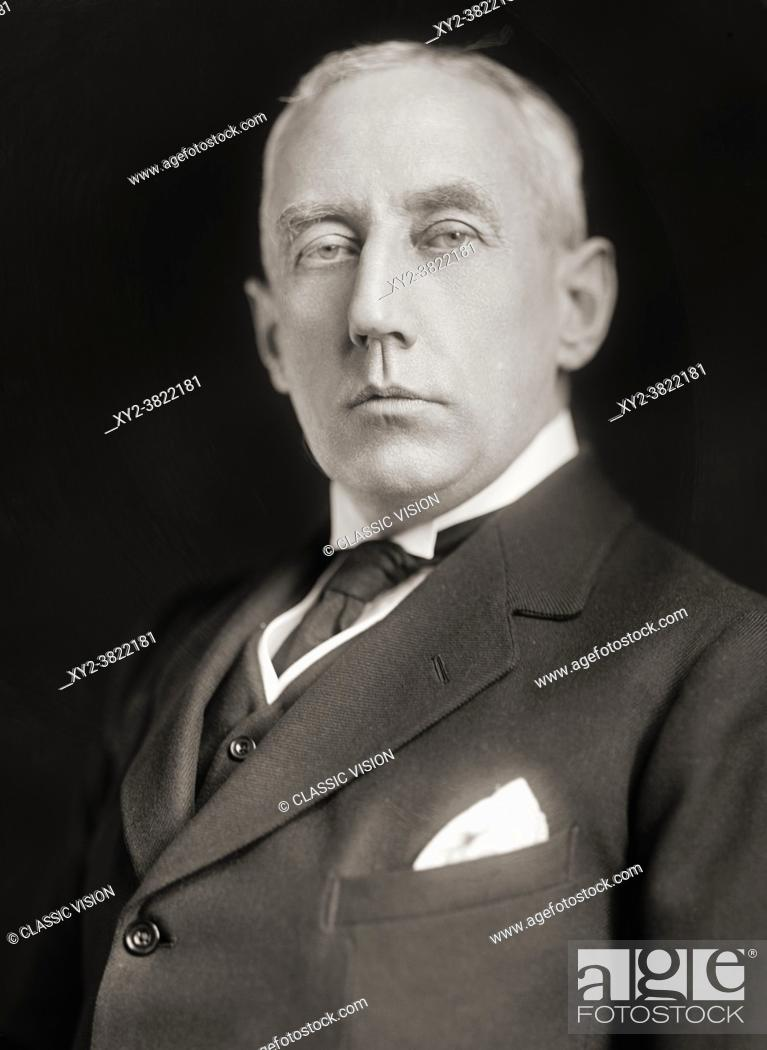 Stock Photo: Roald Engelbregt Gravning Amundsen, 1872 1928. Norwegian explorer of polar regions, leader of the Antarctic expedition of 1910 - 12 which was the first to reach.