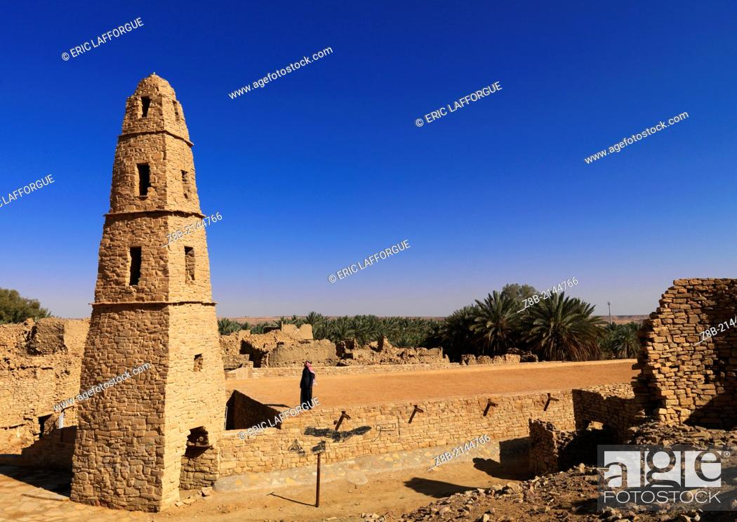 The mosque of Omar Ibn al-Khattab is located in the town of