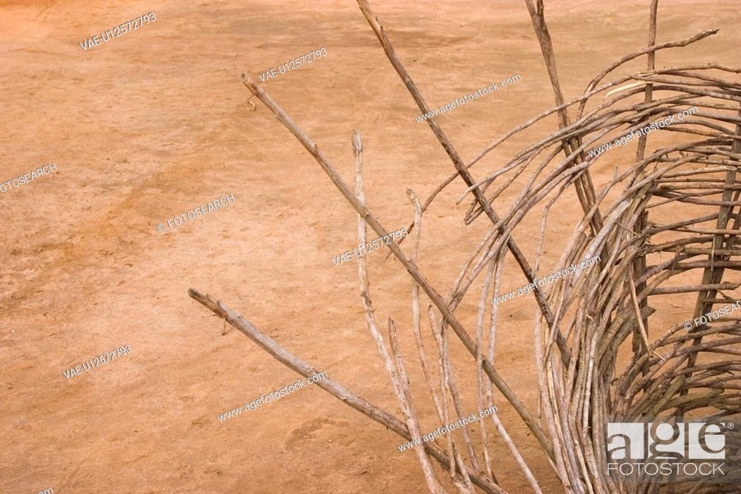 Stock Photo: basket, brown.