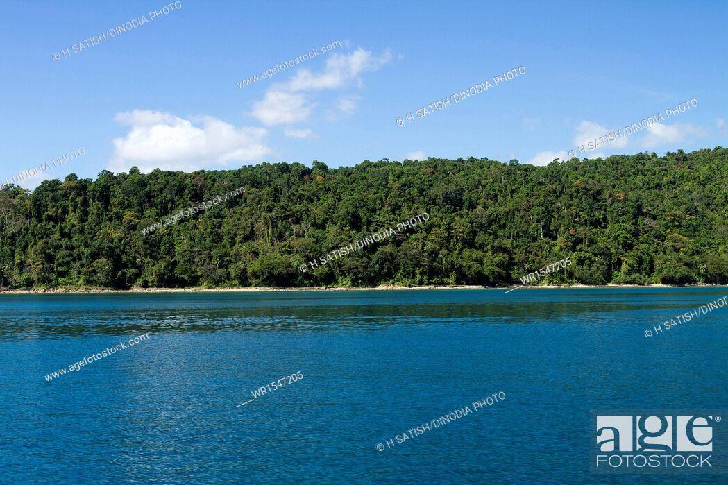 Imagen: North bay Island at Andaman India Asia.