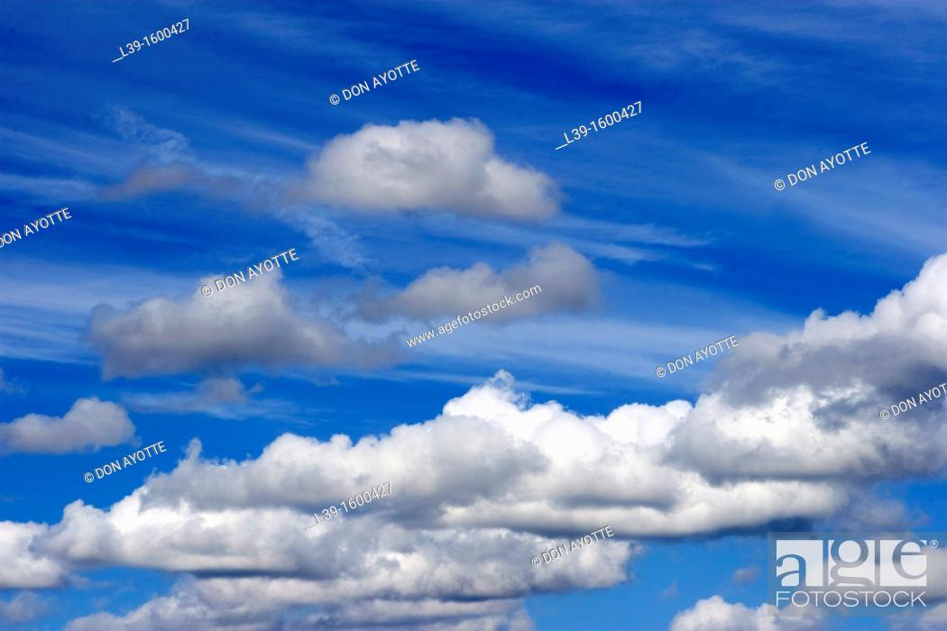 Stock Photo: Clouds over Rte 1 in Dover, DE, USA.