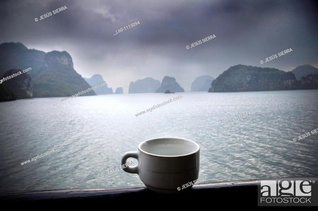 Stock Photo: Cup in Halong Bay, Vietnam.