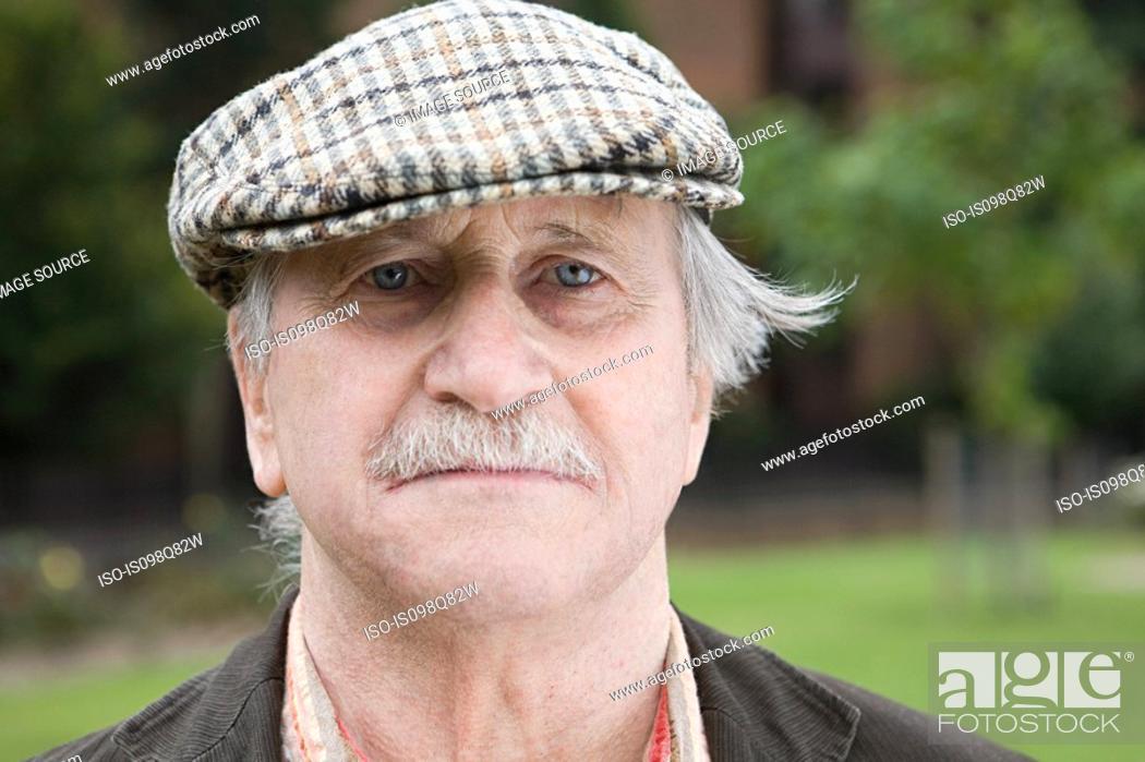 Stock Photo: Portrait of a senior man.