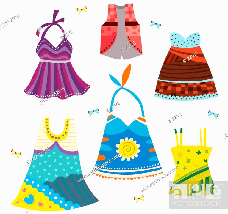 Stock Photo: various dress.