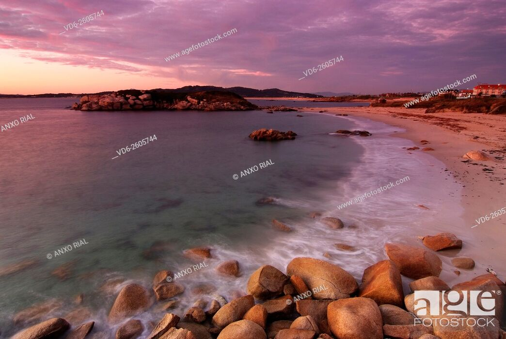 Imagen: Spain. Galicia. Rias Baixas. Sanxenxo. Lanzada Beach.