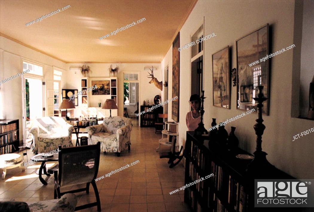 Stock Photo: Havana, Hemingway's house.