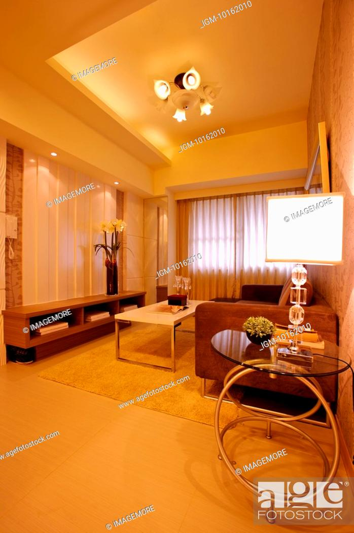 Stock Photo: Interior Design - Living Room.