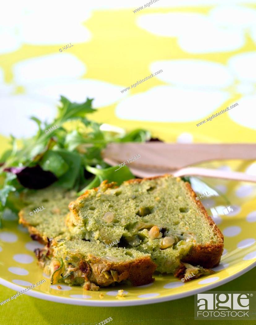 Stock Photo: Pistou cake.