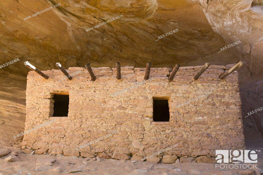 Imagen: The Doll House, Ancestral (Anasazi) Pueblo building, 1150-1250 AD, Bears Ears National Monument, Cedar Mesa, Utah, USA.