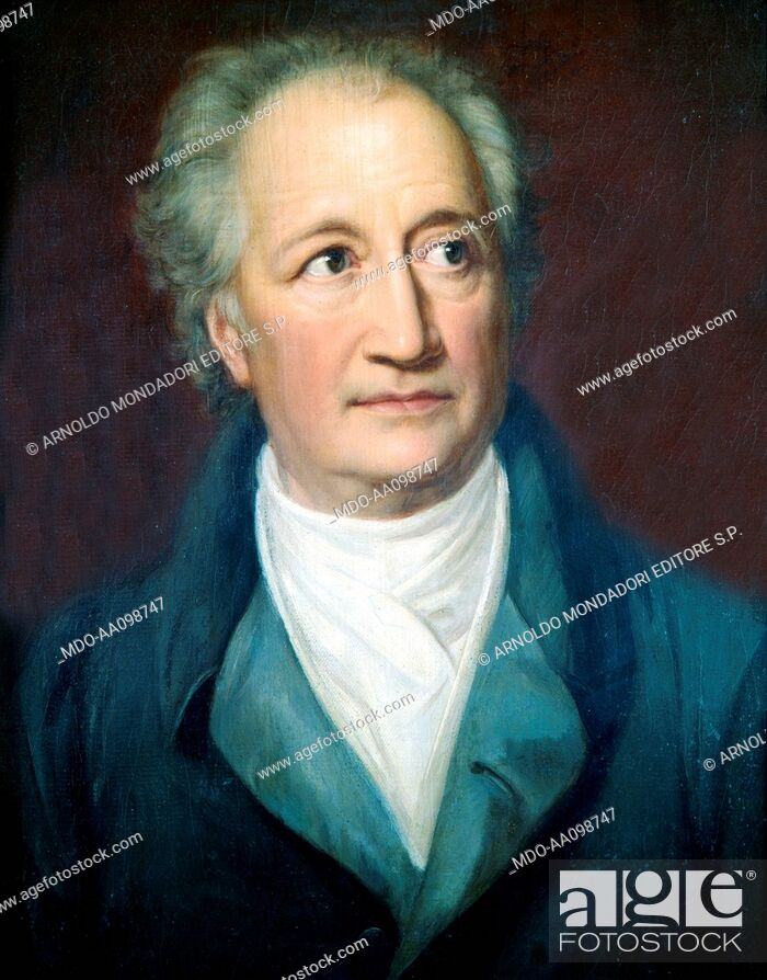 Imagen: Portrait of Johann Wolfgang Goethe (Portrà¤t von Johann Wolfgang Goethe), by Julie von Egloffstein, 1828, 19th Century.