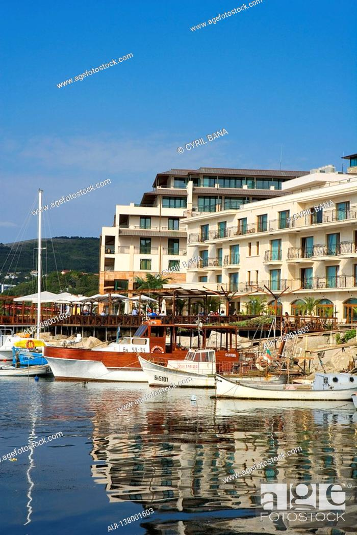 Stock Photo: Bulgaria - Coast - Northern Black Sea - Balchik.